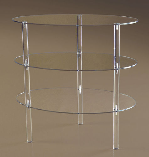Oval Shelf Unit