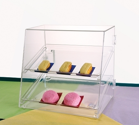 Bakery Cabinet with Two Trays - DTC