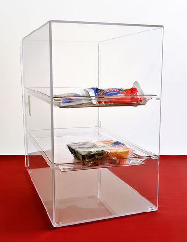 Bakery Cabinet with 3 Straight Shelves