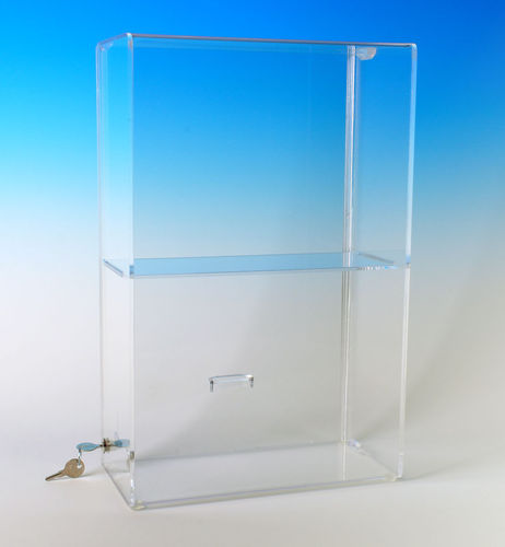 Locking Security Case with 1 Shelf