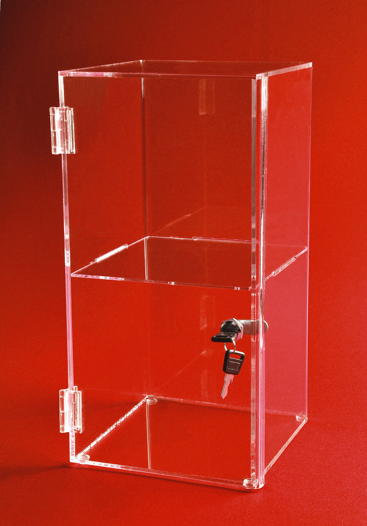 Display Shelves For Collectibles >> Square Display Cases - CHOICE ACRYLIC DISPLAYS