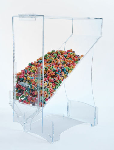 "Cereal Dispenser | Food Dispenser - 24-1/2""H x 9-1/2""W x 16-1/2""D - BFCD24"