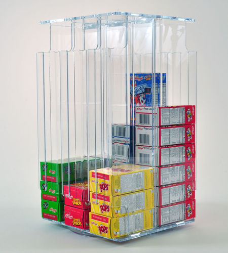 Cereal Box Dispenser Holds Over 50 Individual Single Serving Cereal Boxes