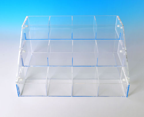 Acrylic Bins Systems with 3 Bins | Your Choice of Bins