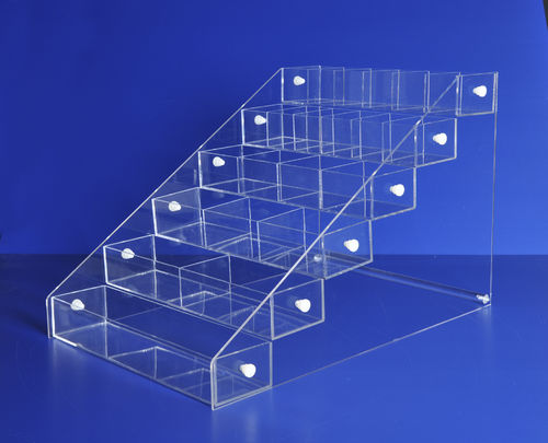 Acrylic Bins Systems with 6 Bins | Your Choice of Bins | $149.99