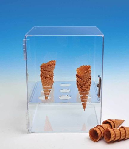 Cone Holder | Cone Cabinet Holds Sugar and Waffle Cones