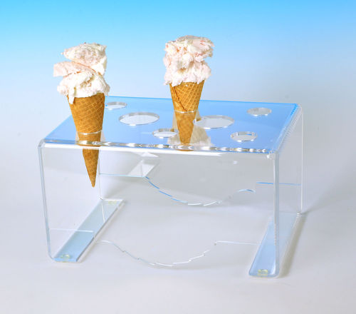 Cone Holder for Sugar and Waffle Cones | Universal Cone Stand CONESW