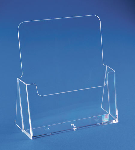 Brochure Holders 8-1/2 x 11 Catalog Size | Countertop Literature Holder B2E - Buy 1 or 100 and $ave
