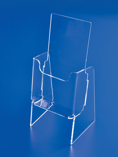 Premier Elevated Brochure Holders in 6 Sizes - BBHE