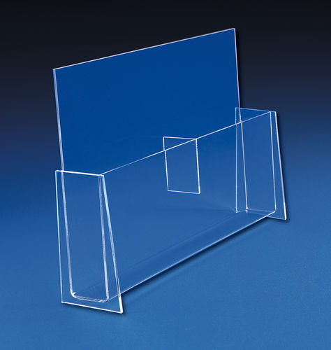 Brochure Holders for Trifolds or Catalogs | Multi Pocket Brochure Stand
