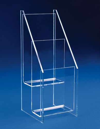 Tiered Trifold Holders | Trifold Racks with 2, 3, or 4 Tiers