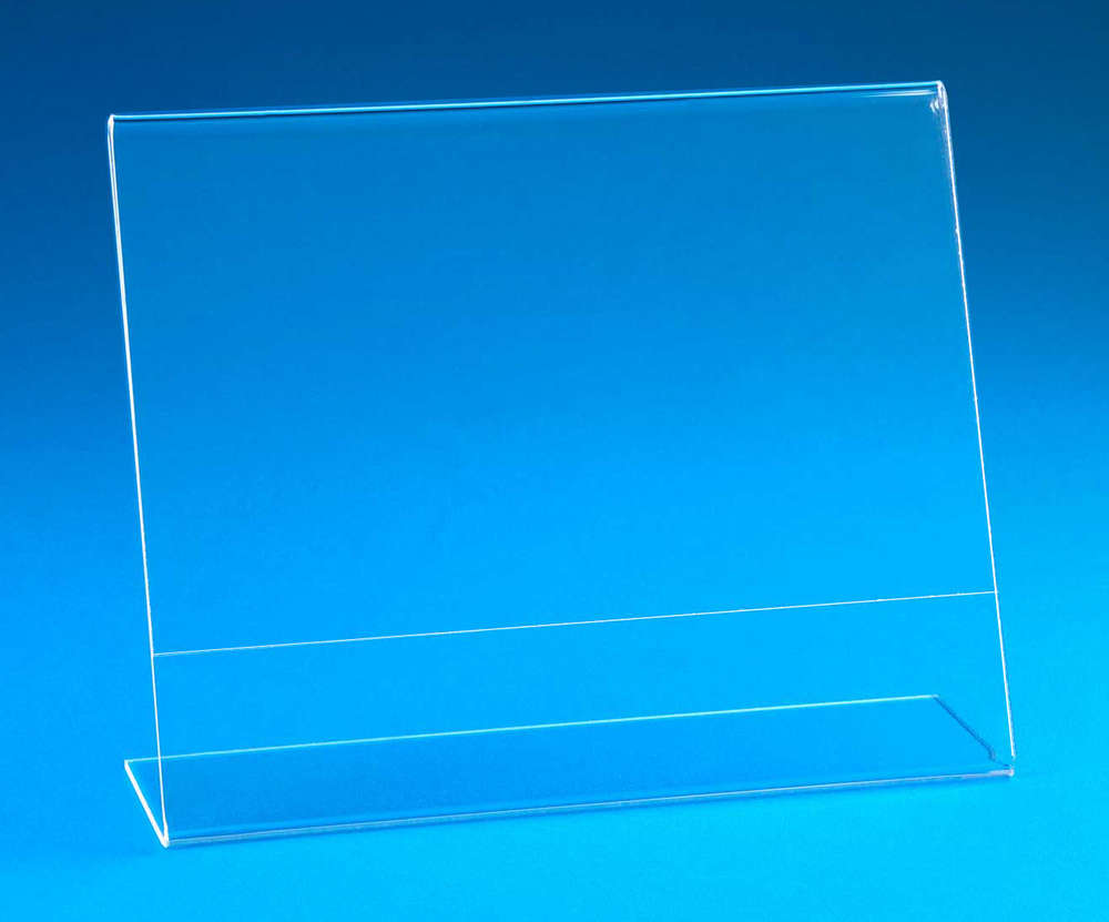 Angled Sign Holders Frames Large Sizes 8 X 10 To 11 X 17