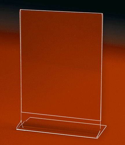 "Side Loading Sign Holders and Frames | MEDIUM Sizes up to 5"" x 7"" to 7"" x 11"""