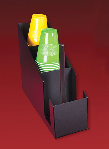 Cup and Lid Holder for Flat or Domed Lids - 880-1795