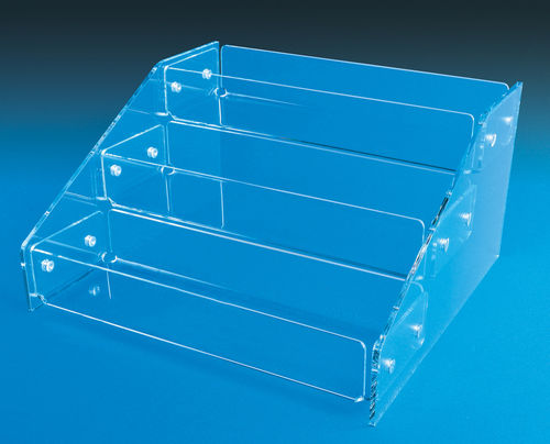 "Tiered Display Trays with 3 Tiers - 18"" Wide MRK1"