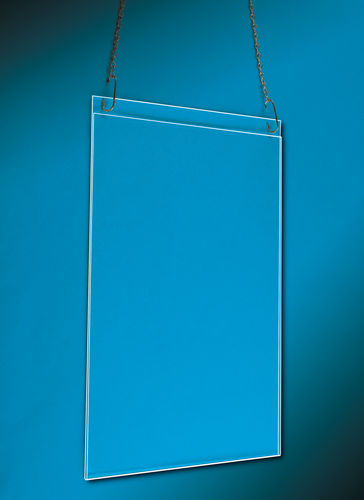 Poster Frames | Acrylic Frames with Ceiling Hanging Chain | Picture Frames