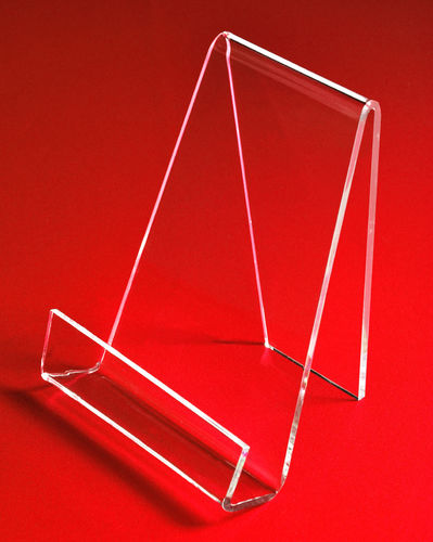 Book Easel with Lip | Angled Tablet Stand